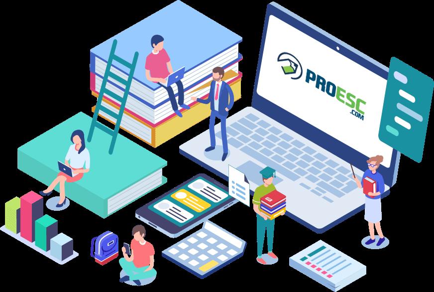 Sistema de gestão escolar online